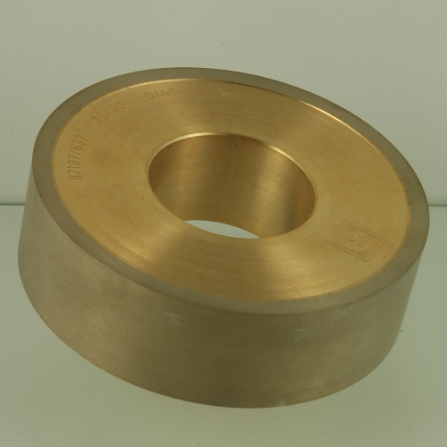Cylindric diamond fine grinding wheel