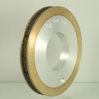 Trapezoidal diamond grinding wheel