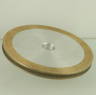 Pencil edge diamond grinding wheel